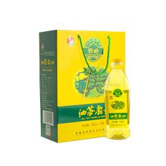 野岭茶油500ml*2礼盒 物理压榨油茶籽油