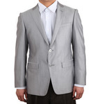 萨托尼 sartore 男士 商务 特价 正装 西服上衣 灰色 03102002