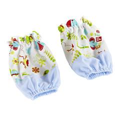 费雪Fisher Price婴儿宝宝印花袖套棉儿童护袖婴幼儿套袖 一对