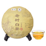 中茶 蝴蝶 茶叶 福鼎白茶 5901老树白茶357g/饼