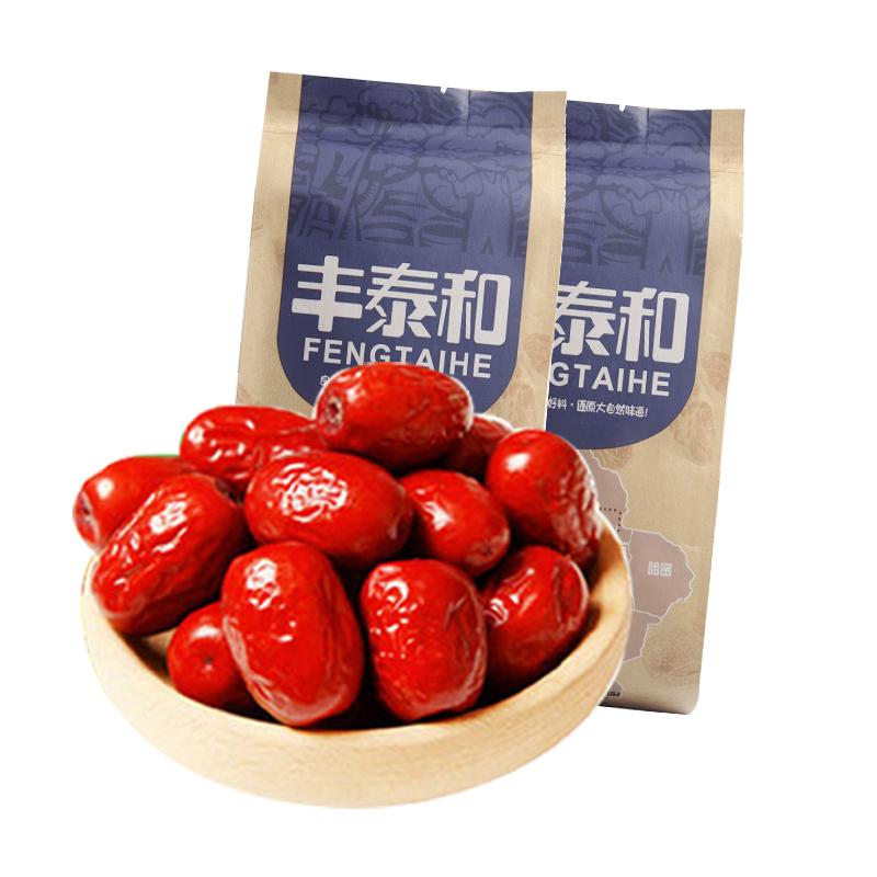 【新疆果王】丰泰和若羌红枣汤粥枣煮粥煲汤泡茶用枣180g*3袋