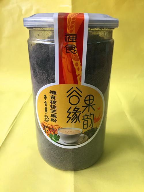 燕之坊 核桃芝麻禅食450g 黑芝麻核桃粉 冲饮即食 现磨干吃五谷粉