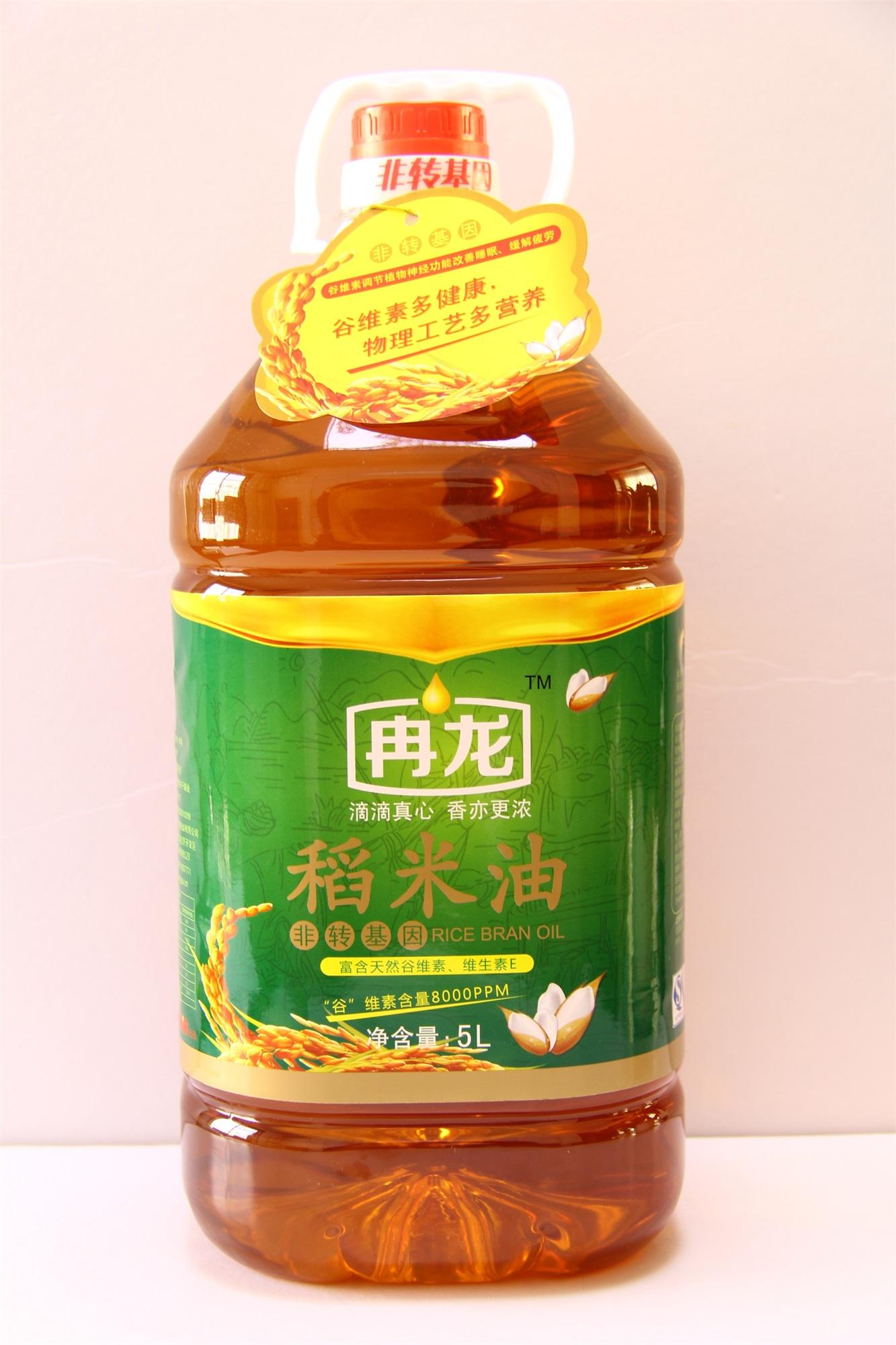 冉龙牌5L稻米油