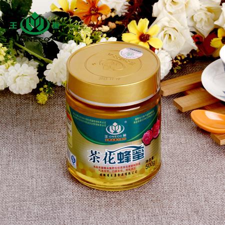 王巢 茶花蜂蜜 500克 *3/瓶 瓶装