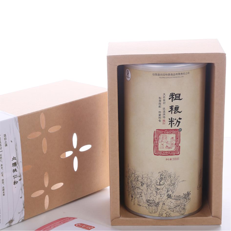 【五媚粮】温经止痛 血糯桃仁粉 两罐礼盒装