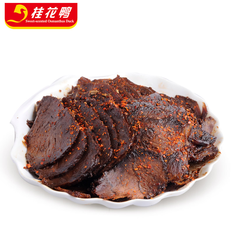 金陵小食 桂花鸭 真空包装五香牛肉120g熟食