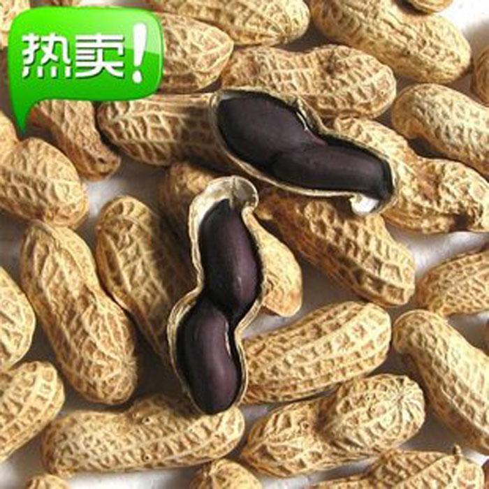 【年货节特卖】紫花生500g 土生土长花青素