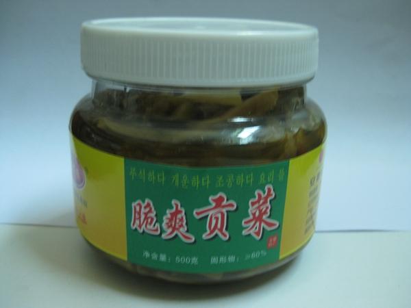 张福顺脆爽贡菜500g