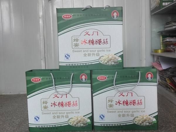 张福顺义门蜂蜜冰糖醋蒜1200g