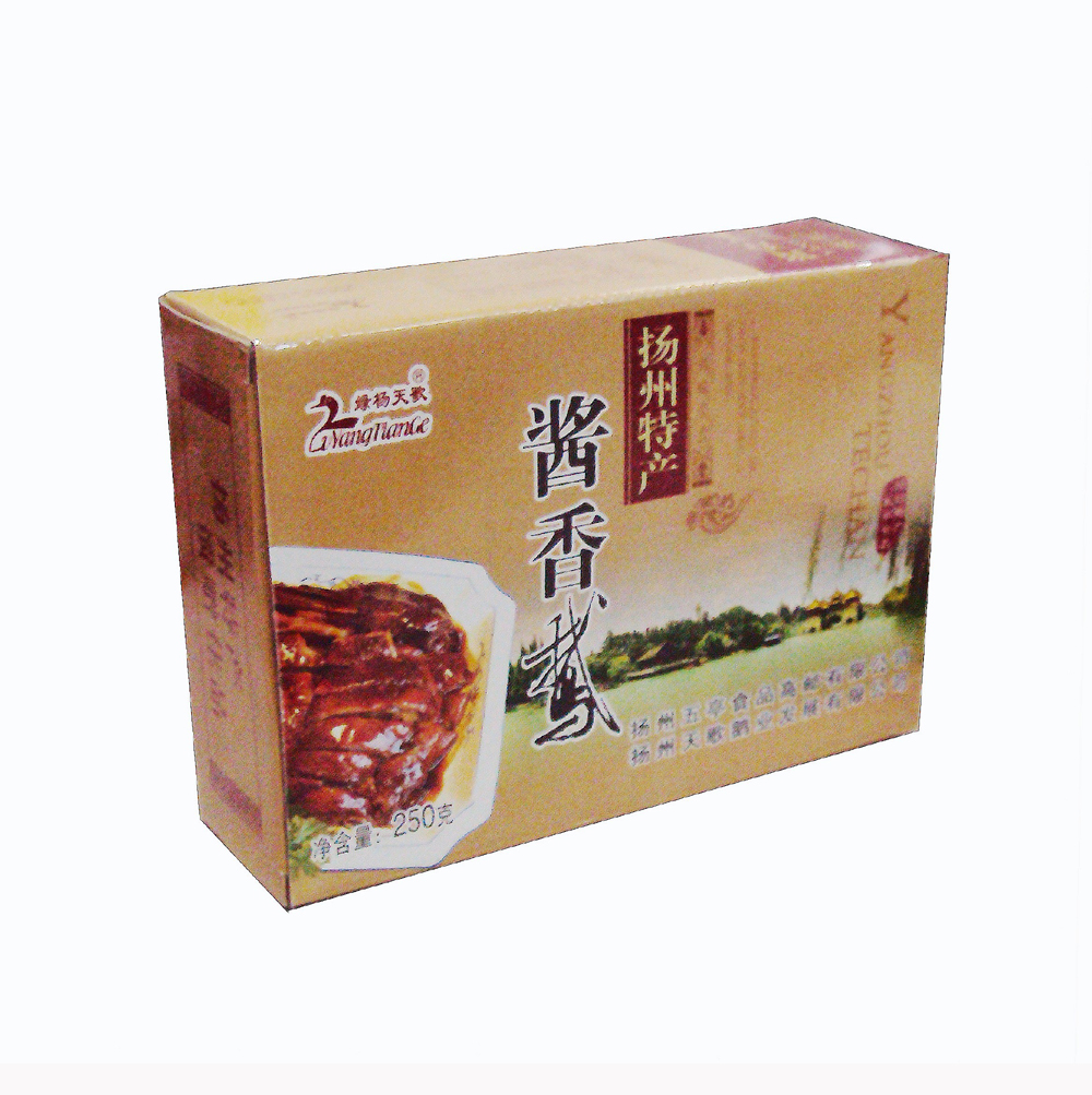 绿杨天歌 酱香鹅250克装